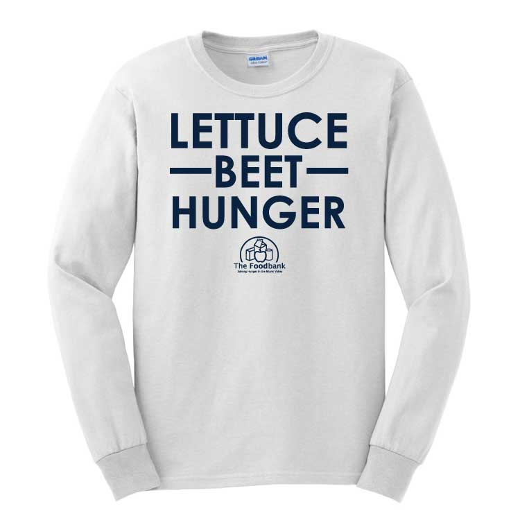 'Lettuce' Youth/Adult 100% Cotton Long Sleeve T-Shirt