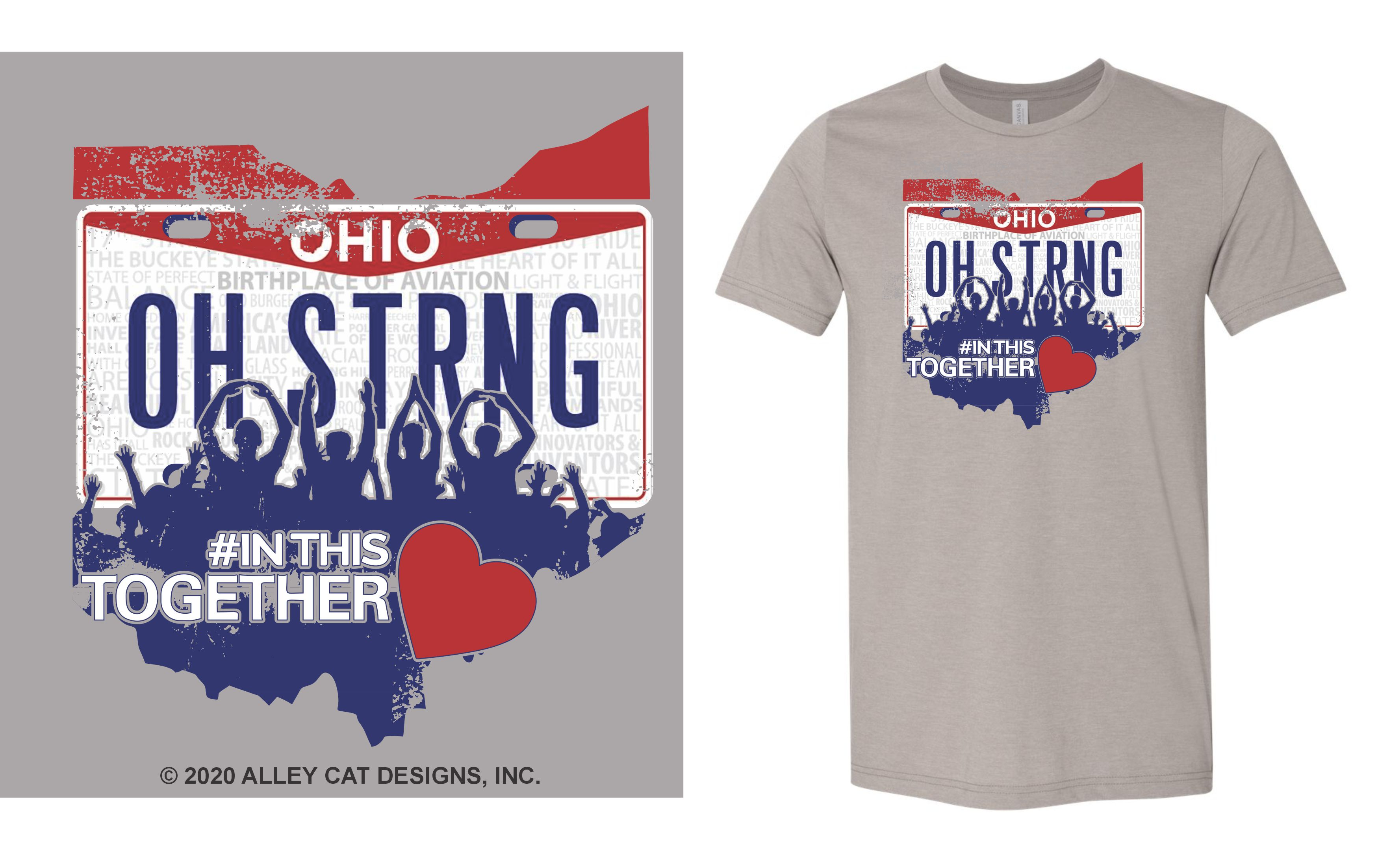 Ohio Strong Adult/Youth Unisex Tee